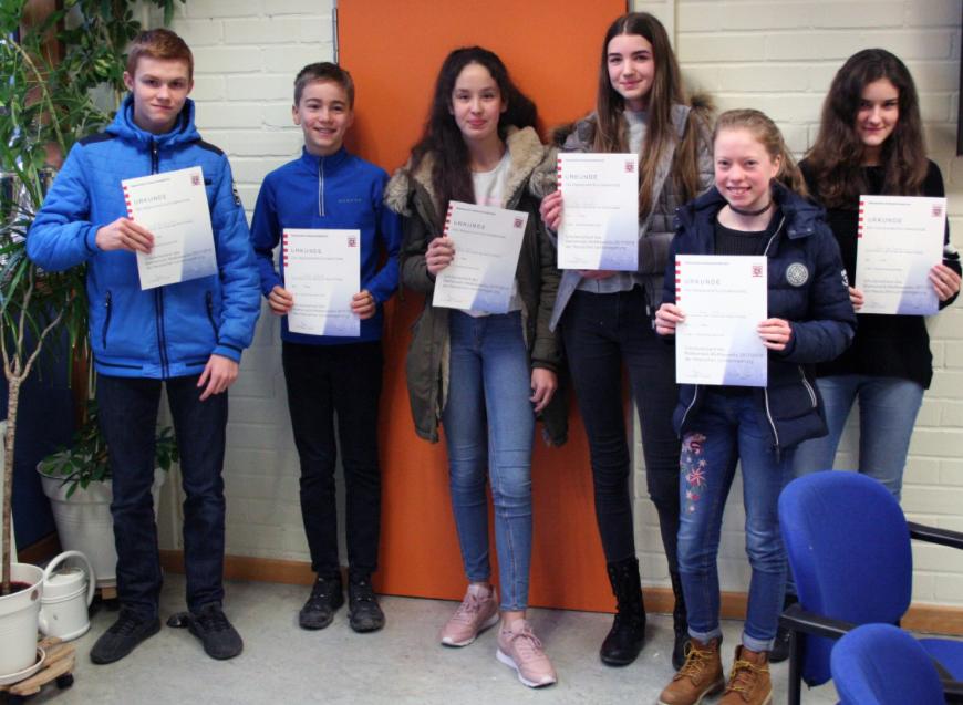 Die Schulsieger der ersten Runde durften nun beim Mathematik-Wettbewerb des Landes Hessen in der zweiten Runde antreten.