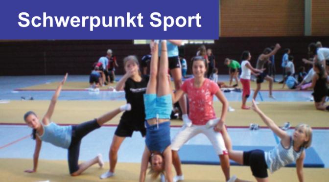 Der Schwerpunkt Sport an der Schule am Ried